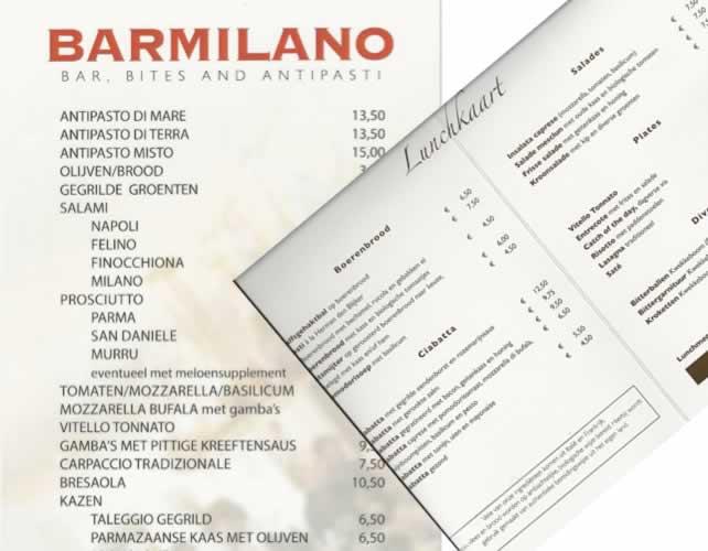 Bar Milano in Deventer voor heerlijke Italiaanse gerechtjes.
