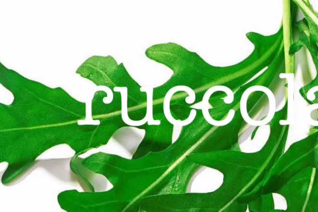rucola of ruccola