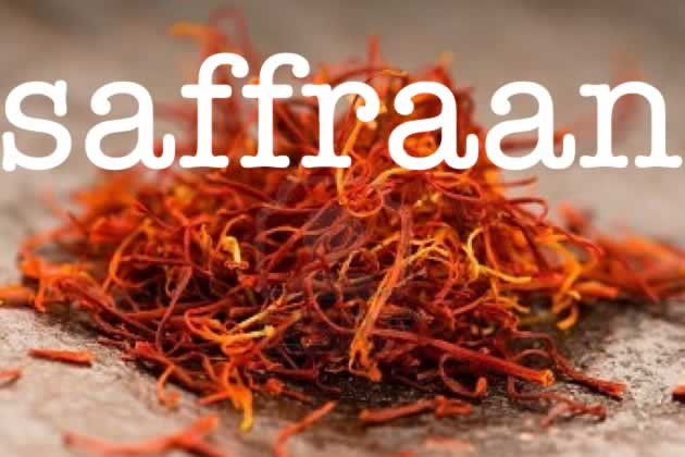 saffraan pasta gerecht